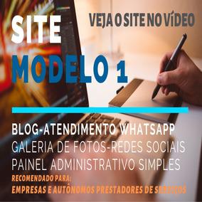 Site Com Whatsapp - Blog - Redes Sociais - Galeria De Fotos