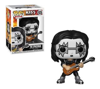 Funko Pop Rocks Kiss Spaceman 123 Original!