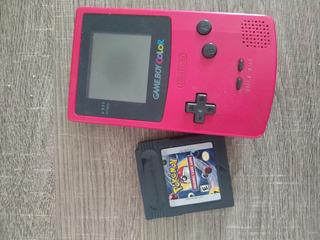 Game Boy Color + Pokemon Card