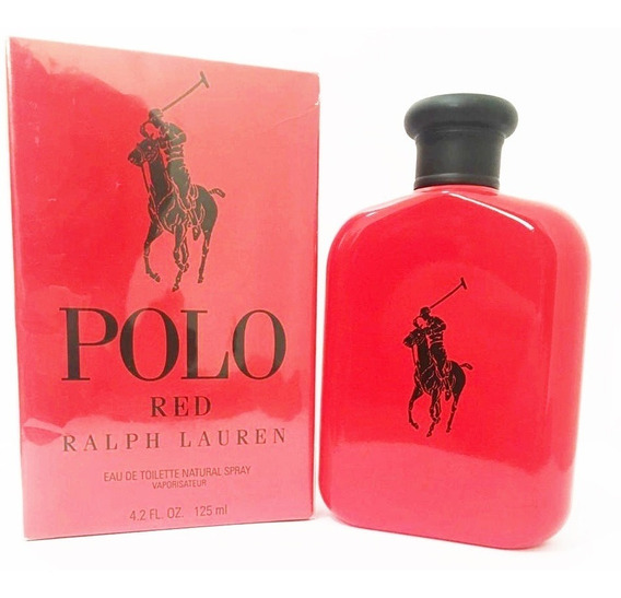 Perfume Masc Polo Red Ralph Lauren 125ml Original Lacrado