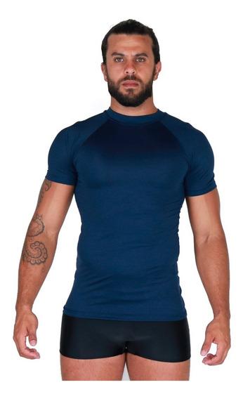 Kit 5 Camisa Térmica Curta Segunda Pele Praia Compressão 038