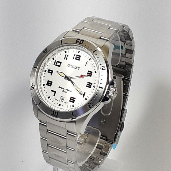 Relógio Quartzo Masculino Orient Mbss1155a Cromado