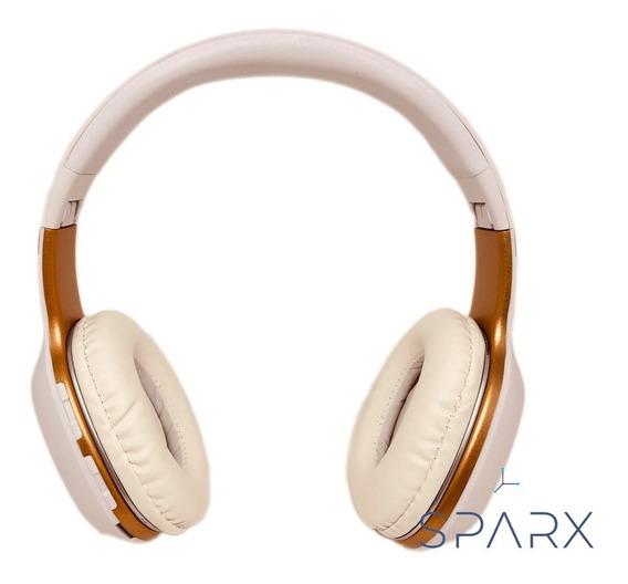 Fone De Ouvido Bluetooth Com Microfone Radio Fm E Memoria Sd