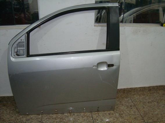 Porta S10 Lt Ltz Dianteira Esquerda Prata