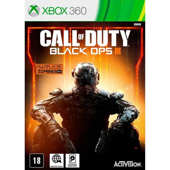 Jogo Call Of Duty Black Ops Iii - Xbox 360