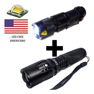 Lanterna Tatica Militar X900 Original Com Luz Alta Potencia