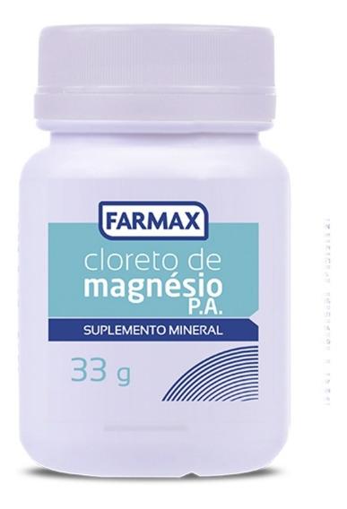 Cloreto Magnésio Suplemento Mineral 33g Farmax
