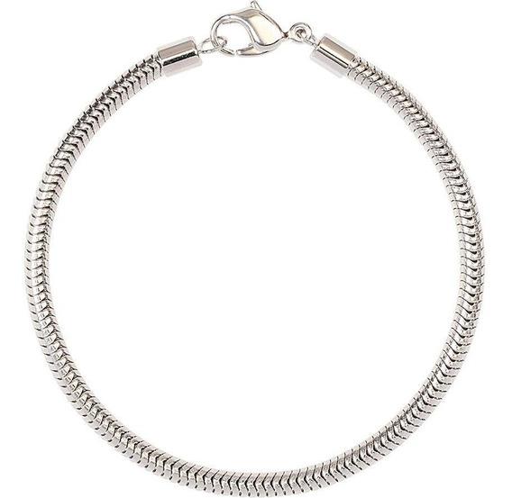 Bracelete Swarovski Para Becharmeds - Cor Prata