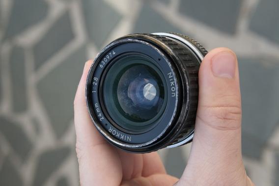 Lente Nikon 24mm 2.8 Ai