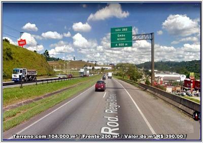 Terreno Em Embu Das Artes ( Terreno Com 104.000 M² ) - 1645
