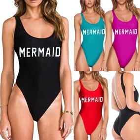 Bikini Traje De Baño Mermaid Enteros Calidad Premium