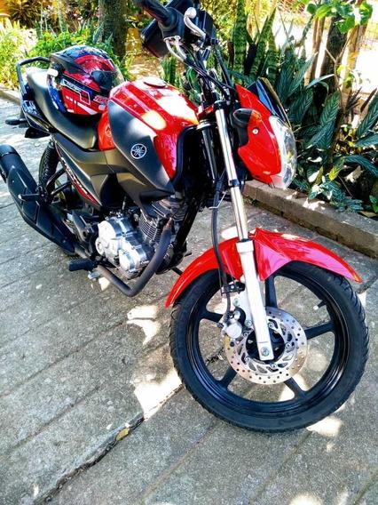 Moto Yamaha Factor 150 Ed Vermelha Unico Dono Linda