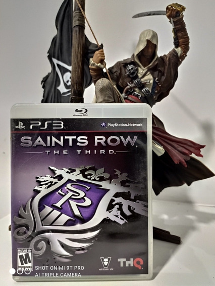 Jogo Saints Row Ps3 Seminovo Impecavel Original + Brinde