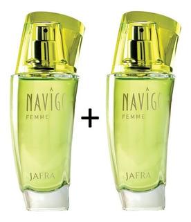 Jafra Perfume Navigo Femme Eau De Toilette Envio Full
