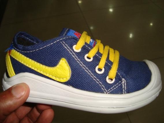 Zapato Modelo Converse Talla 21 Al 24 Reforzado Punta Nike
