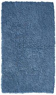 Alfombra Para Baño Azul 85 X 52 Cm Envío Gratis