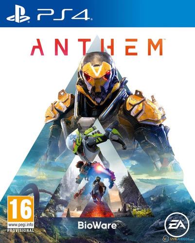 Anthem Ps4 Juego Fisico  Nuevo Original Sellado Morón Bs As