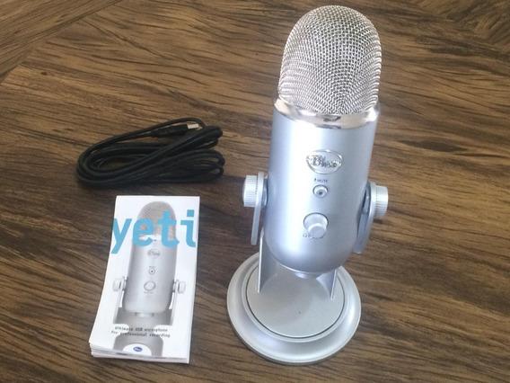 Microfone Blue Yeti - Usb - Condensador - Profissional