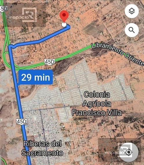 Terreno En Venta Km 21 Carretera Cd Juarez Ideal Para Granja