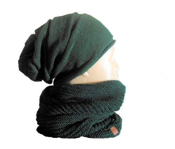 Bufanda Cuello Infinito Lana Calidad Premium Suaves