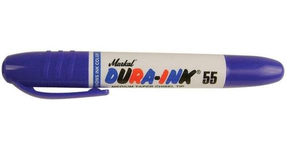 Marcador Fibra Permanente Biselada Markal Ink 55