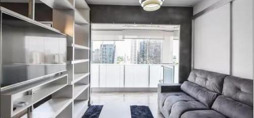 Imagem 1 de 30 de Studio Com 1 Dormitório À Venda, 33 M² Por R$ 640.000,00 - Santo Amaro - São Paulo/sp - St0107