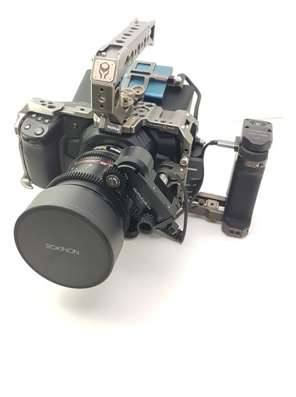 Câmera Blackmagic Pocket Cinema 4k Rig Completissimo Novo