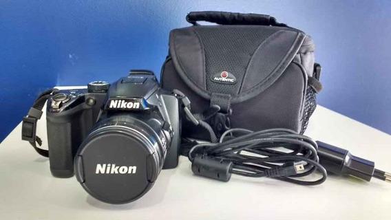 Câmera Semi-profissional Nikon Coolpix P500 Nikon