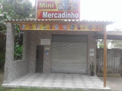 Casa Em Itanhaém Com Salão Comercial - 4973/p