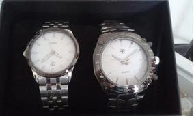 Vendo Hermoso Duo De Relojes Para Hombre Y Mujer Nnuevos