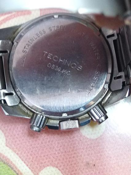 Relógio Technos Cronógrafo Os20.hc Resistente A Água