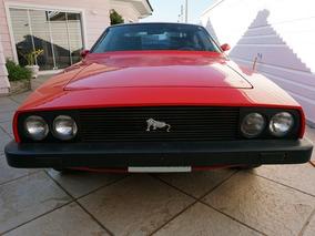Puma Gtb S2 1981 Vermelho