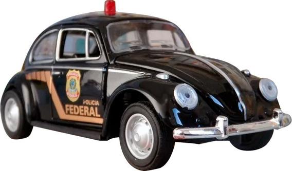 Miniatura Fusca Viatura Polícia Federal