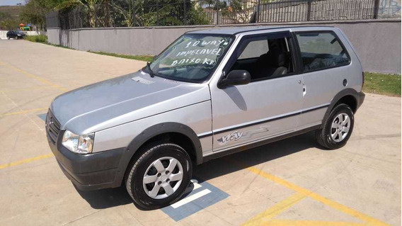 Fiat Uno Mille Economy Way Impecavel