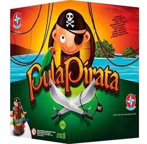 Jogo Pula Pirata Estrela Original