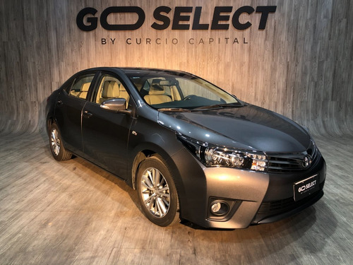 Toyota Corolla Seg 2016 Gris Oscuro Excelente Estado