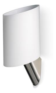 Lampara Aplique Tor De Pared Vidrio Opal Satinado E27 P/led