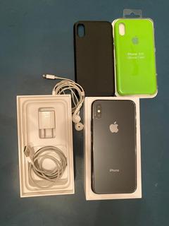 iPhone Xs Space Gray 256gb Con Accesorios 900