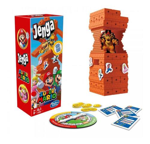 Juego Jenga Super Mario Nintendo
