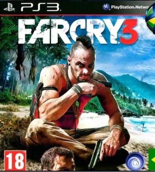 Far Cry 3 Ps3 Psn Legendas Português Pt Br Jogo Em Promoção