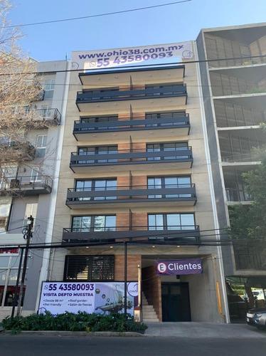 Imagen 1 de 11 de Nápoles, Departamentos Con Excelente Ubicación Y Acabados, E