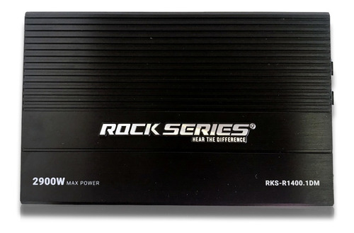 Imagen 1 de 7 de Amplificador Mini Rock Series Rks-r1400.1dm 1 Canal 2900w
