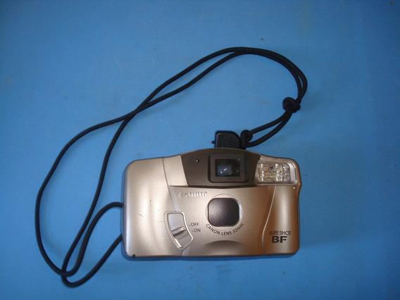 Câmera Fotográfica Antiga - Canon - Sure Shot B F - Kit