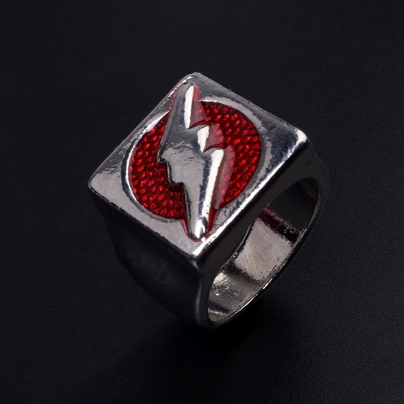 Flash Anillo Importado Barry Allen Dc Justice Comics Tallas
