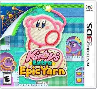Kirbys Extra Epic Yarn Nintendo 3ds Nuevo (en D3 Gamers)