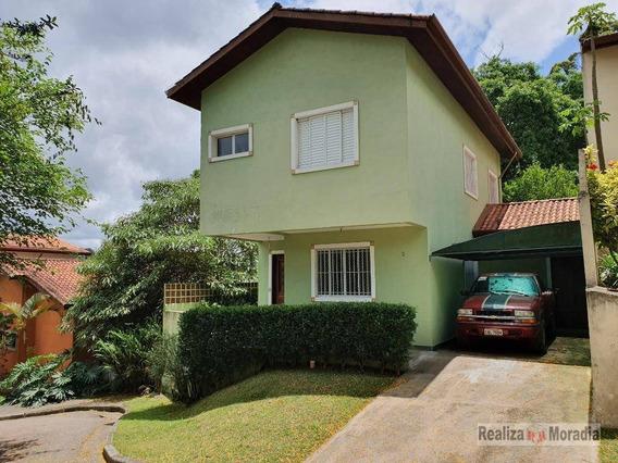 Casas Em Vila Particular Com 3 Dormitórios Armários Para Alugar 132 M² Por R$ 2.498/mês - Granja Vianna - Cotia/sp - Ca1421