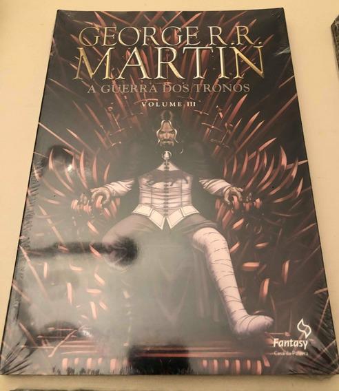 A Guerra Dos Tronos 3-hq George Rr Martin-quadrinhos-livro
