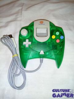 Control Verde Translucido Original Dreamcast Culture Gamer