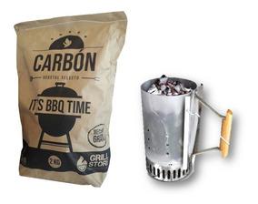 Grillstore - Rapibrasa + Carbón X 2 Kg Mr. Grill