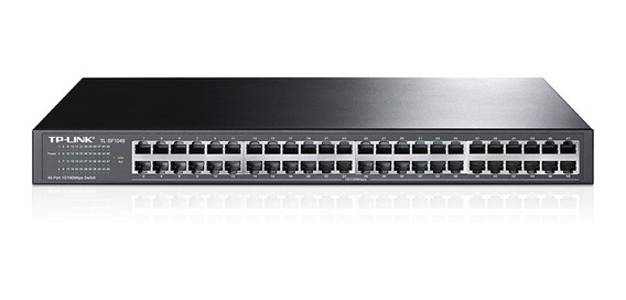 Switch De 48 Puertos 10/100 Para Racks Tl-sf1048 Tp-link